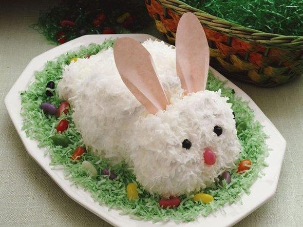 easter bunny - (Ostern, Hasenschablone)