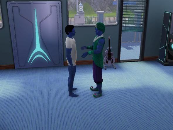 2 Dschinns - (Sims 3, Sims)
