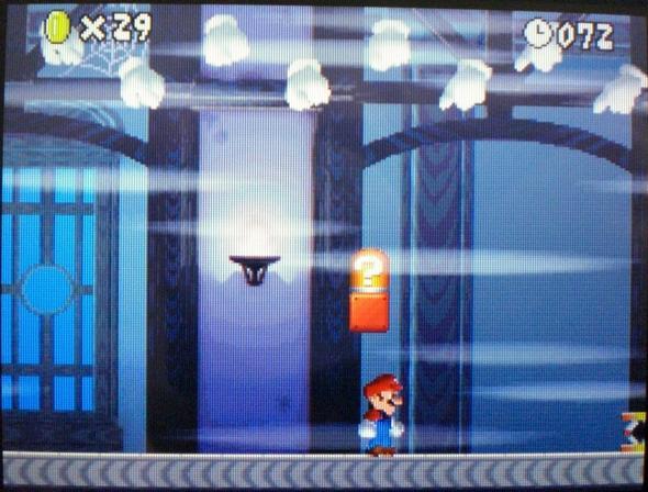 unsichtbarer Block - (Spiele, Super Mario Bros)