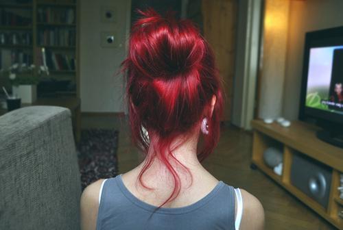 Haare Rot Färben Bleichen Style Frisör