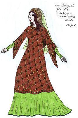 Kleider der Frau - (Mode, Geschichte, Zeit)