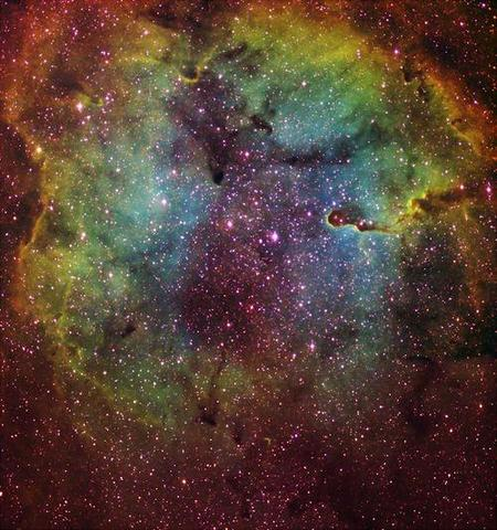 :) - (galaxy, Sterne, Bilderbearbeitung)