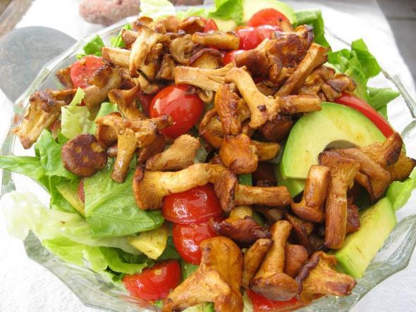pfifferlingsalat - (essen, Ernährung, Kochen)