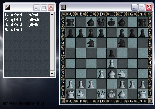 unnex's: nokiss (chess opening) - (Freizeit, Schach, Schacheröffnung)