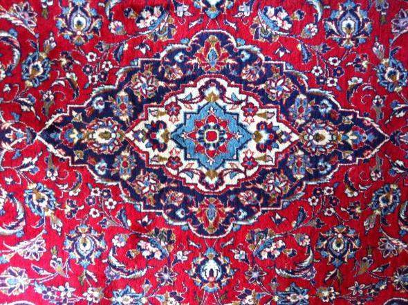 Perser teppich muster  Persischer Keshan – Wie viel ist dieser Orientteppich wert ...