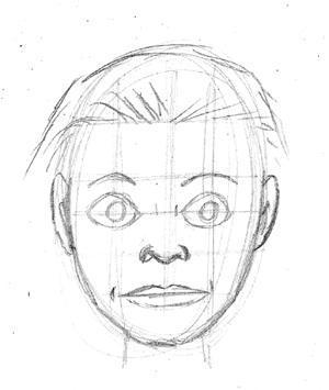 Beispiel 1 - (lernen, zeichnen, Zeichnung)