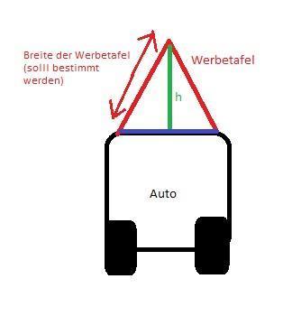 Werbetaxi - (Mathe, Satz des Pythagoras)