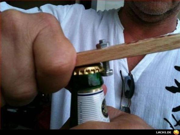 Flaschenöffner - (selber bauen, Flaschenöffner)