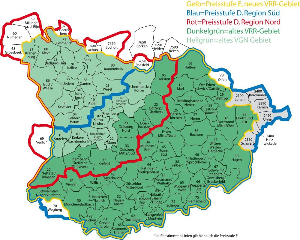 Anschlussticket Vrr Köln