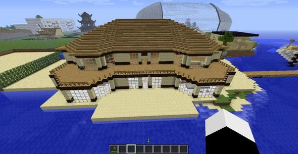 minecraft villa 15x30 bauplan multiplayer. Black Bedroom Furniture Sets. Home Design Ideas
