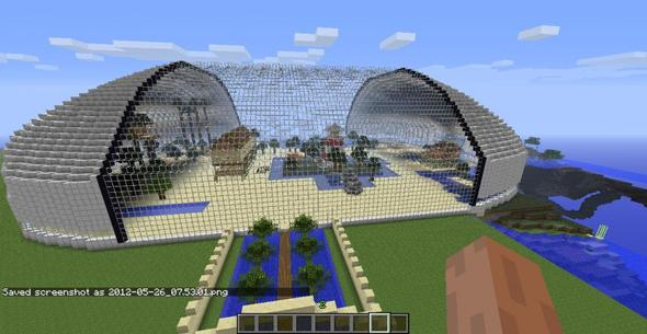 Minecraft villa 15x30 bauplan multiplayer