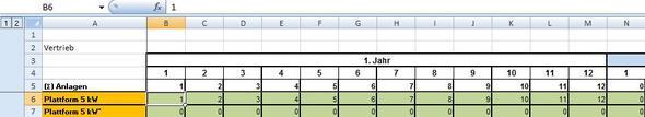 Dies ist die Quelldatei aus der die Werte kommen sollen - (Computer, Excel, Tabelle)