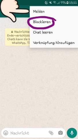 Whatsapp profilbild weg in Whatsapp web