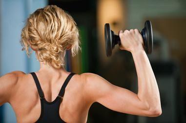 buff upper arm women - (Frauen, Muskeln)