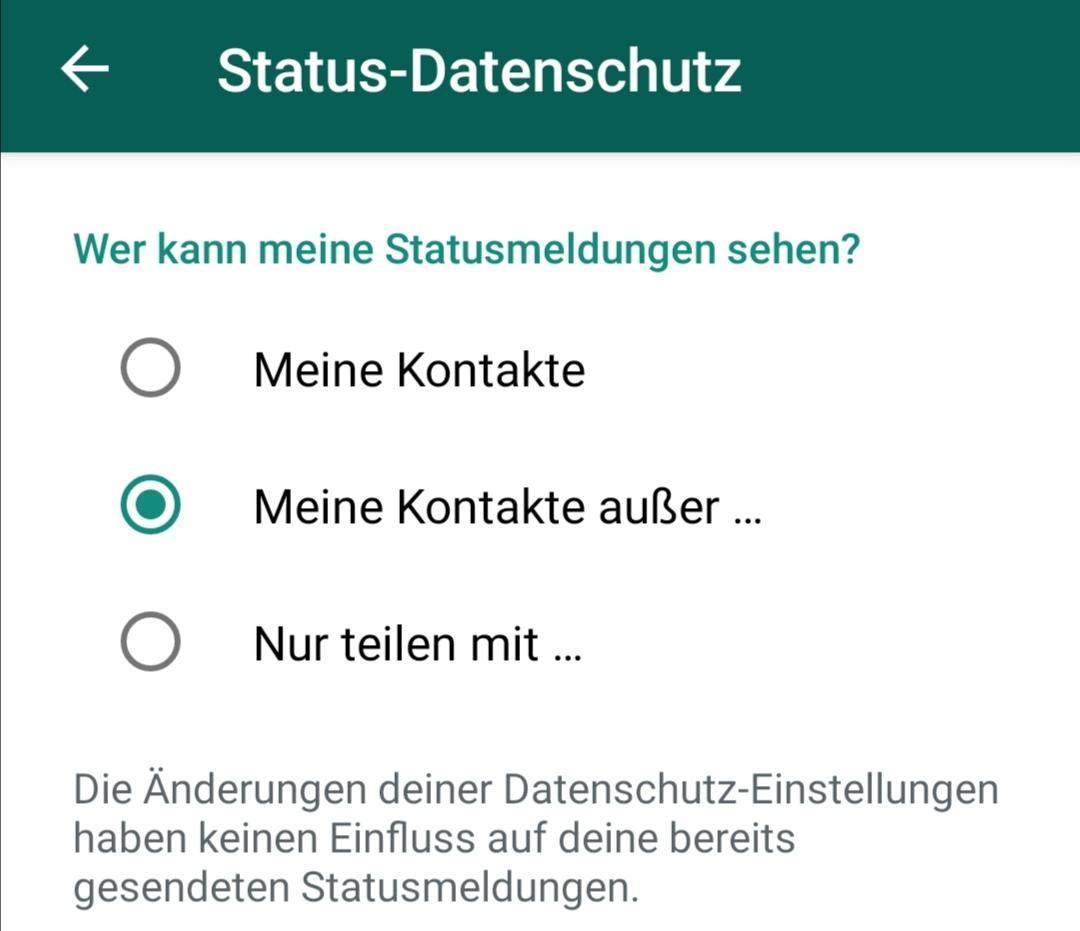 WhatsApp Status blockiert - Wie Sperre aufheben?