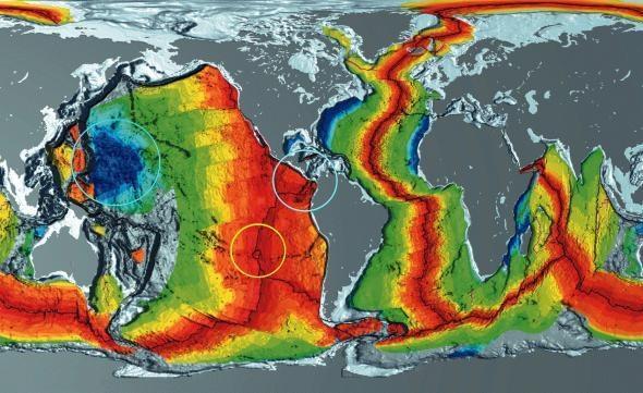 Entstehungszeiten der Ozeanböden - (Freizeit, Wachstum, Erdkunde)