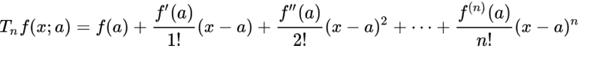 - (Mathe, Mathematik, Taylorentwicklung)