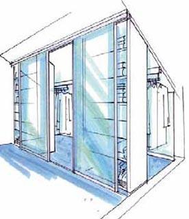 begehbarer kleiderschrank inder dachschr ge bilder tipps. Black Bedroom Furniture Sets. Home Design Ideas