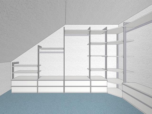 Möbel Für Dachschrä Ikea begehbarer kleiderschrank dachschräge tolle tipps zum