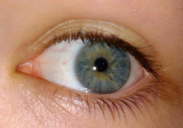 Grau Blau Grüne Augen