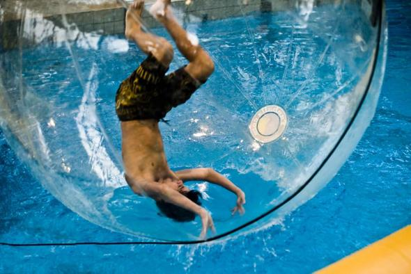 Water Waling Ball im Schwimmbad - (Freizeit, Ball, luftpumpe)