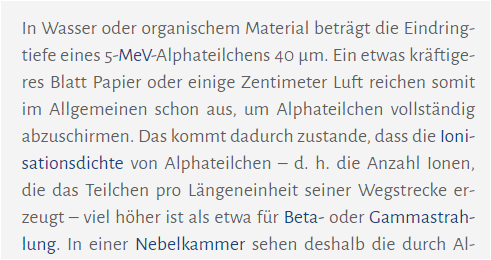 - (Schule, Physik, Strahlung)