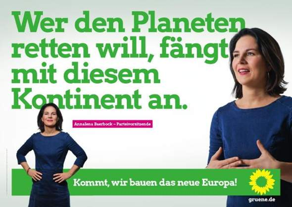 Which Bundestag Party could take responsibility in Germany for climate change an
