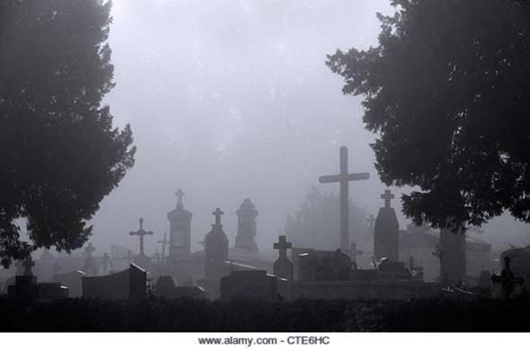 Would you go to a cemetery at 0:00 (midnight)?