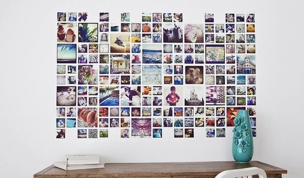 Herz fotowand wohnung ideen wohnen for Idee fotowand