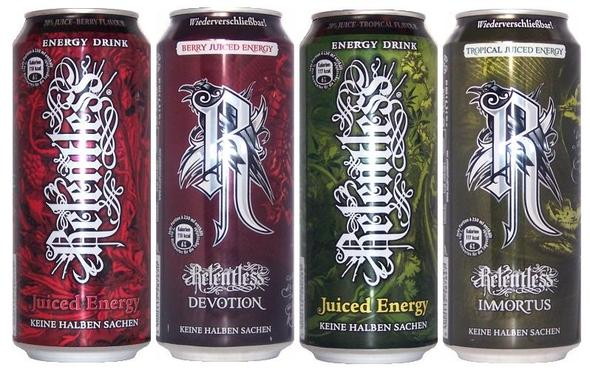 Relentless Juice alt / neu - (essen, Sorten, relentless)