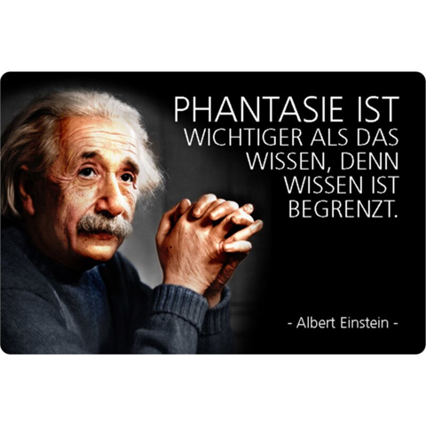 Which famous quotes are spontaneously one of Albert Einstein?
