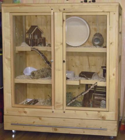 hamsterk fig wie gross hamster k fig nager. Black Bedroom Furniture Sets. Home Design Ideas