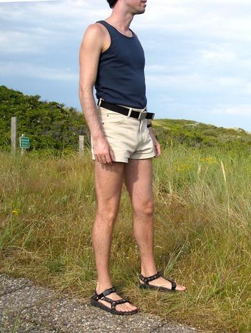 Männer und hotpants (Frauen, Familie)