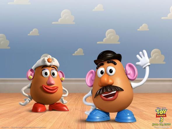 Herr und Frau Kartoffelkopf - (Eier, Toy Story)