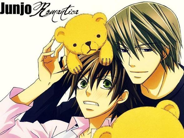 Junjou Romantika 1+2 - (Anime, ecchi, Shojo)