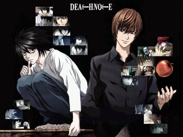 Death Note - (Anime, ecchi, Shojo)