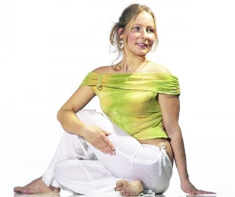 Yoga Asana Drehsitz - (Gesundheit, abnehmen, Yoga)