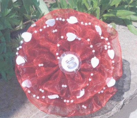 Rose ins Glück - (Geschenk, Hochzeit)