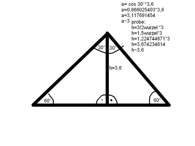 wie berechnet man die seite eines gleichseitigen dreiecks. Black Bedroom Furniture Sets. Home Design Ideas