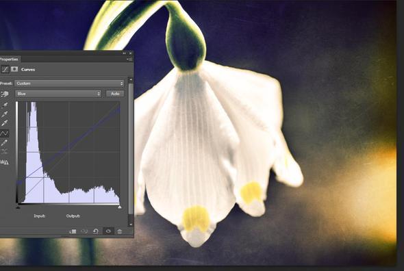 Gradationskurvenbeispiel für einen Look der Richtung Cross Processing geht - (Bilder, Farbe, Bearbeitung)