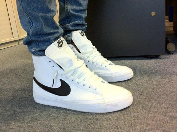 sneakers - (Nike, weiß, Sneaker)