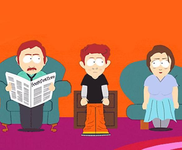 Eric Cartmans Vater