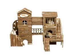 Spiellandschft - (Kaninchen, Bau Ideen, Beachäftigung für Kaninchen)