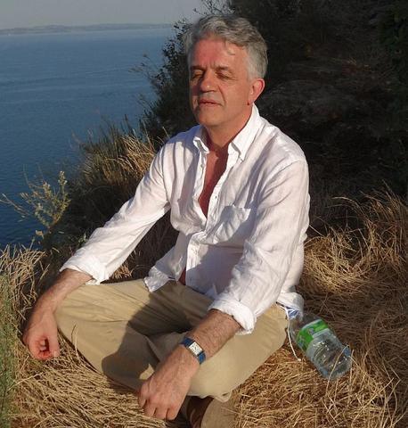 Meditieren oberhalb des Lago di Garda - (Gott, Yoga, Meditation)
