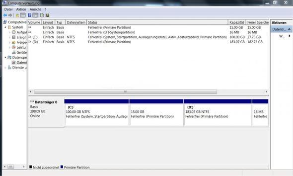 Datenträgerverwaltung - (Computer, System, Linux)