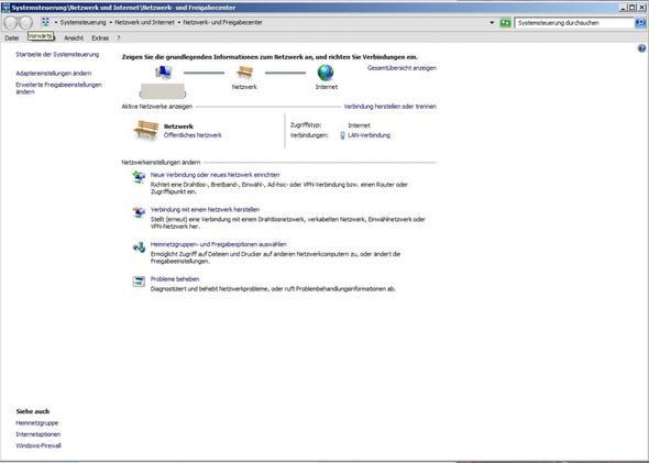 NUFC - (Internet, Windows 7, Netzwerk)