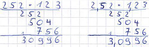 anderes Beispiel - (Rechnen, mal, multiplikation)