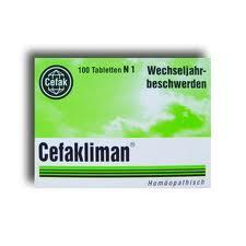 Cefakliman  - (Gesundheit, Medizin, Körper)