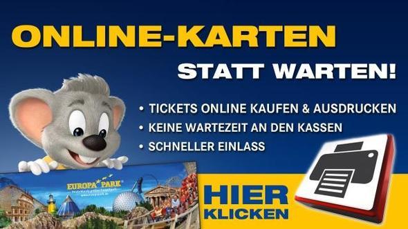 Onlinetickes Europa-Park - (Ticket, Europapark, Vorher kaufen)