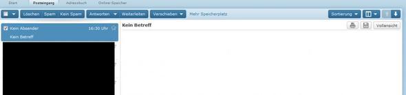 auf Web.de - (Computer, PC, Internet)
